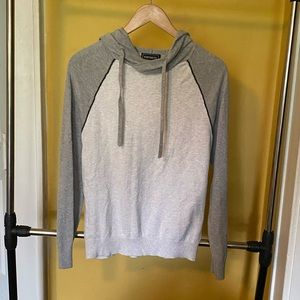 EXPRESS MENS FITTED LIGHT HOODIE